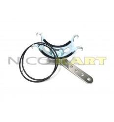 Supporto in metallo per silenziatore d'aspirazione NOX