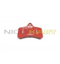 Pastiglia posteriore TOP KART SPEEDY/TWISTER richiamo magnetico