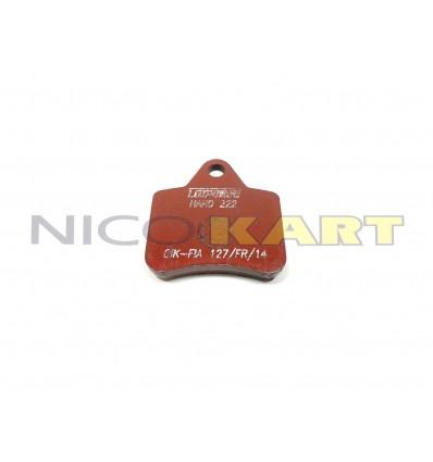 Pastiglia anteriore TOP KART KZ 125 richiamo magnetico