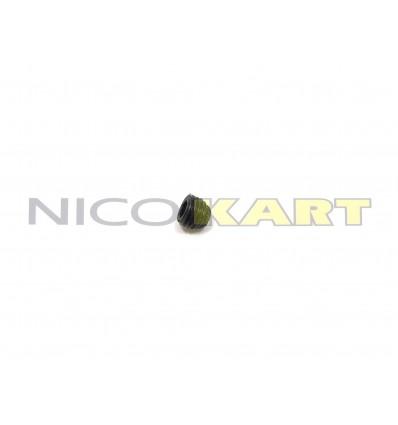 Grano di fissaggio speciale per cusc. assale 6x5mm passo 0,75
