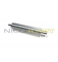Dissipatore di calore in alluminio L.200mm