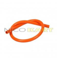 Manicotto in silicone dritto L.1200mm colore arancione
