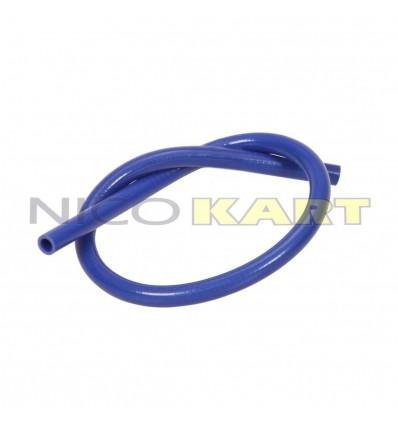 Manicotto in silicone dritto L.1200mm colore blu