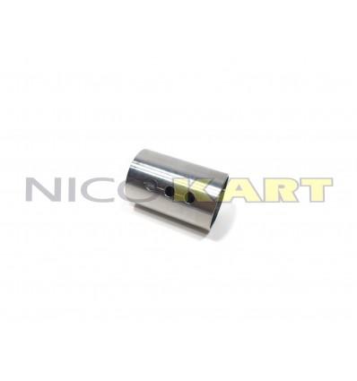 Boccola in acciaio rinforzo assale D.50mm interasse fori 15mm