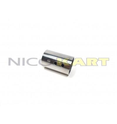 Boccola in acciaio rinforzo assale D.50mm interasse fori 17mm