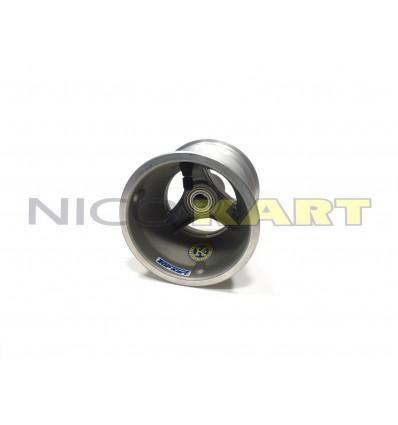Cerchio anteriore TOP KART in alluminio con mozzo misura 130mm