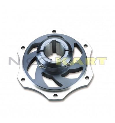 Portadisco D.30mm in alluminio anodizzato modello CLS