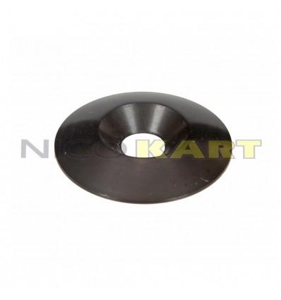 Rondella conica in alluminio per montaggio sedile Di.8 De.34mm