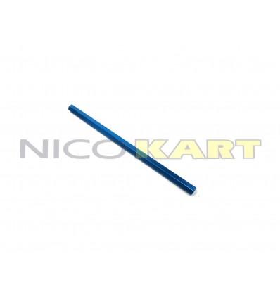 Tirante sterzo in alluminio sezione esagonale anodizzato colore blu