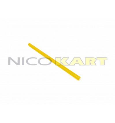 Tirante sterzo in alluminio sezione esagonale anodizzato colore oro