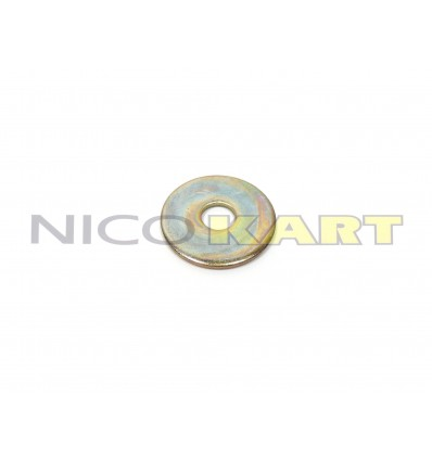 Rondella piana zincata alta qualità Di.10 De.36mm