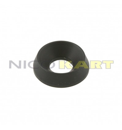 Rondella conica in alluminio Di.8 De.19mm