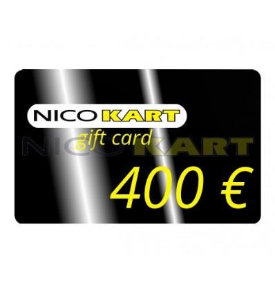 Buono regalo da € 400,00