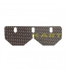 Balestrino inferiore in carbonio compatibile per TM 125 KZ