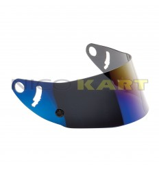 Visiera IRIDIUM BLUE per caschi GP 8K CARBON/KJ-8 CARBON/GP 8K/KJ-8