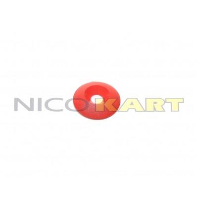 Rondella conica in plastica per montaggio sedile Di.8 De.30mm