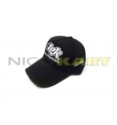 Cappellino LGK nero con ricamo