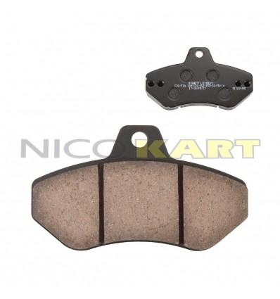 Pastiglia posteriore RIGHETTI RIDOLFI 111 H.16mm nera