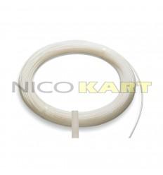 Tubo freno in nylon trasparente Di.4mm De.6mm 80 bar