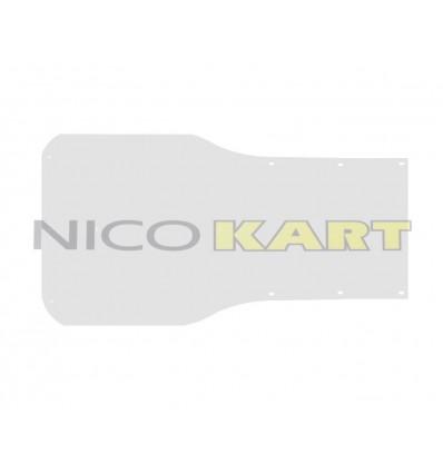 Pedana LGK in alluminio naturale