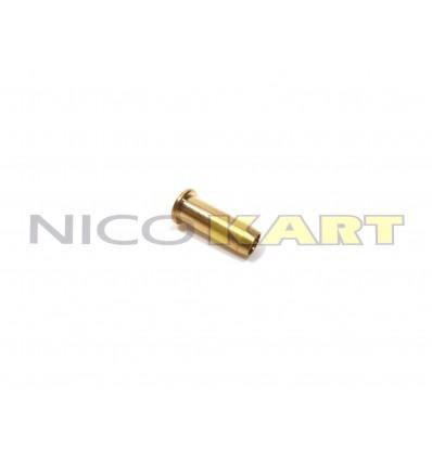Bussola per tubo freno in nylon D.4mm