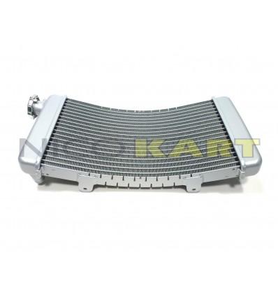 Radiatore grande in alluminio tipo curvo H.435mm L.210mm SP.50mm