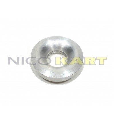 Flangia in alluminio per carburatore DELL'ORTO PHBG 18 BS