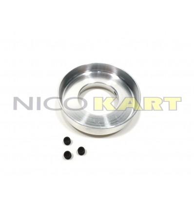 Flangia in alluminio per carburatore DELL'ORTO PHBN 14 MS