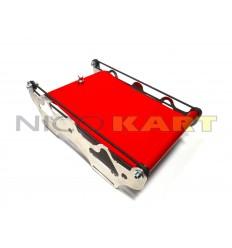 Tendina radiatore CNC colore rosso