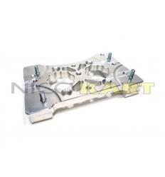 Piastra motore CNC in alluminio per motore TM KZ10-B-C inclinata 2,5°