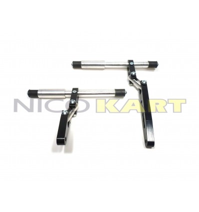 Supporto radiatore CNC in alluminio regolabile con snodi