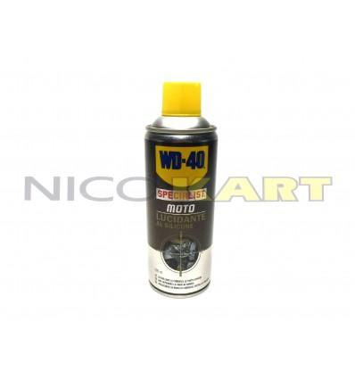Bomboletta WD 40 spray specialist moto lucidante al silicone da 400 ml