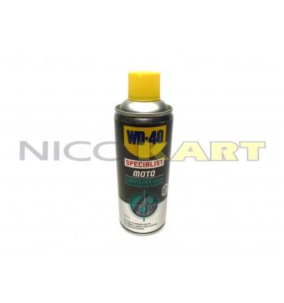 Bomboletta WD 40 spray specialist moto lubrificante catena da 400 ml