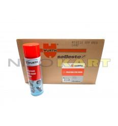 Cartone da 24 Pzz. bomboletta spray pulitore freni WURTH 500ml