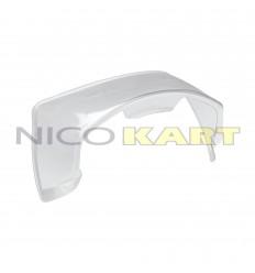 Spoiler posteriore OMP per caschi GP 8K CARBON/KJ-8 CARBON/GP 8K/KJ-8
