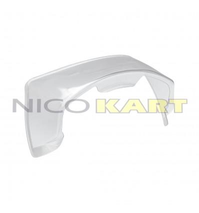 Spoiler posteriore per casco OMP