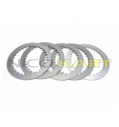 Kit 5 dischi frizione in ergal trattato Sp.1,5mm per TM KZ