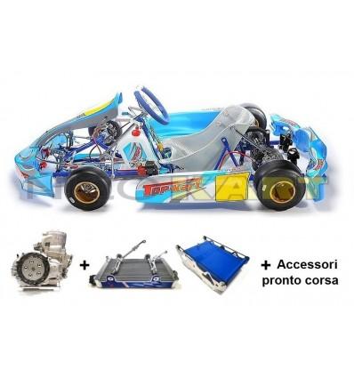 Go-Kart Top Kart Twister KZ con freno VEN 09 + Motore TM KZ10C Base + accessori pronto corsa