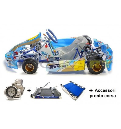 Go-Kart Top Kart Twister KZ/SHIFTER 103/CH/17 + Motore TM KZ10C Base + accessori pronto corsa