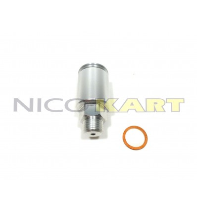 Serbatoio in alluminio per sfiato olio cambio 125 KZ