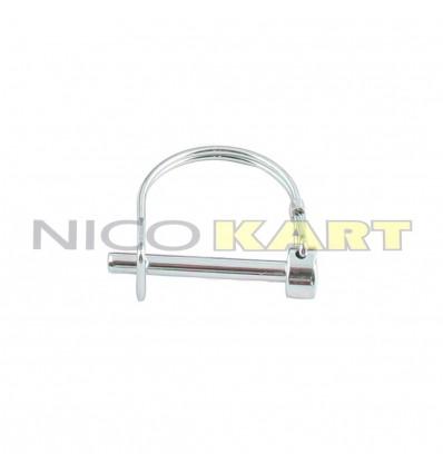 Spina di sicurezza D.6mm per kit ganci paraurti posteriore RIGHETTI RIDOLFI