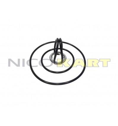 Anello di sicurezza per candela piccola con esagono da 16mm