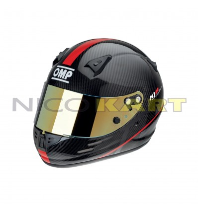Casco OMP KJ-8 CARBON