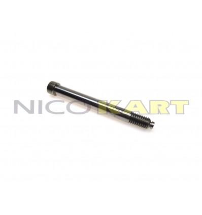 Bullone fusello LGK in acciaio rettificato D.10mm L.90mm con appoggio piatto