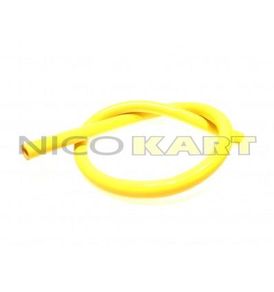 Manicotto in silicone dritto L.1200mm colore giallo