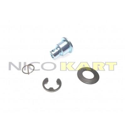 Kit boccola+rondella+seeger+fermo per disco flottante ant./post. TOP KART impianto CRG VEN 05-09