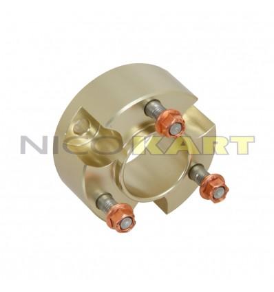 Prolunga per mozzo anteriore o posteriore in ergal anodizzato magnesio L.30mm