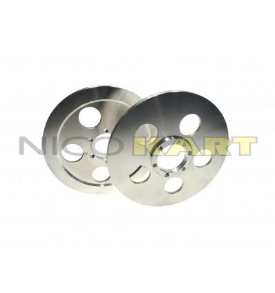 Coppia dischi convergenza in alluminio attacco CRG-MARANELLO
