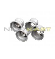 Set 4 cerchi TOP KART in magnesio MINI/BABY misura 112/140mm