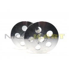 Coppia dischi convergenza in alluminio